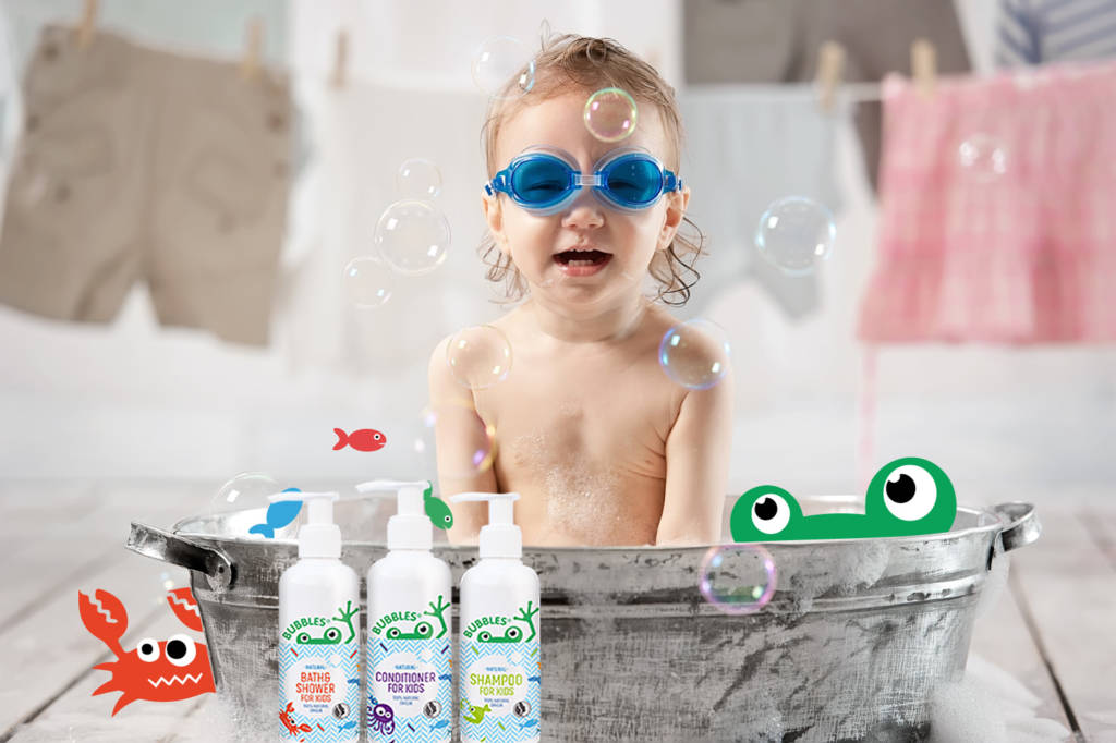 Bubbles Natural Bodycare for Kids
